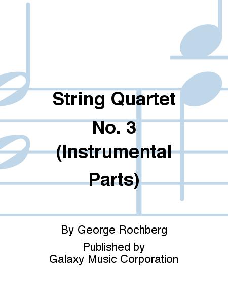 String Quartet No. 3 (Instrumental Parts)