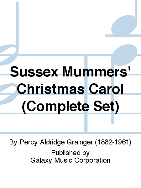Sussex Mummers' Christmas Carol (Complete Set)
