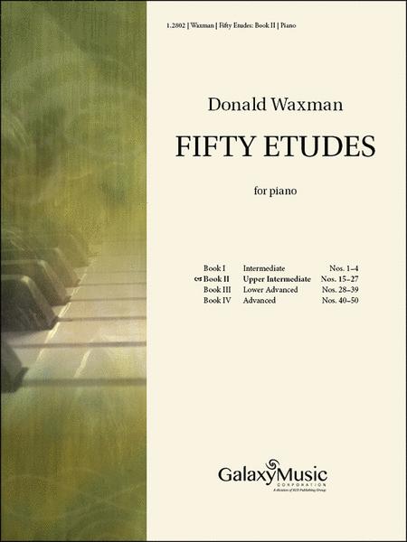Fifty Etudes, Book 2