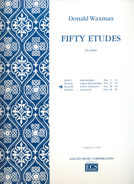 Fifty Etudes, Book 3