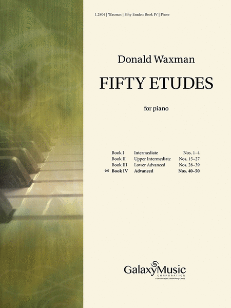Fifty Etudes, Book 4