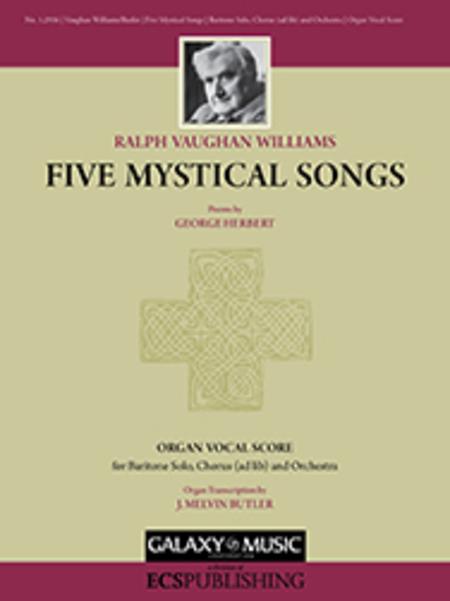 Five Mystical Songs (Organ/Vocal Score)