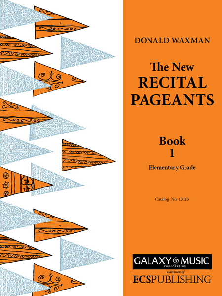 New Recital Pageants, Book 1
