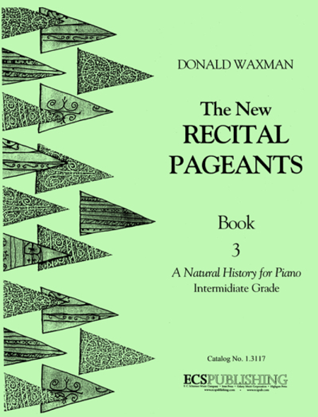 New Recital Pageants, Book 3