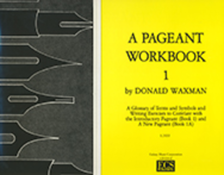 A Pageant Workbook, Book 1