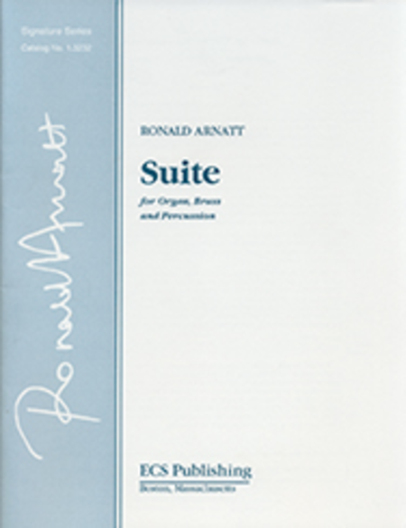 Suite for Organ, Brass and Timpani  (Score)