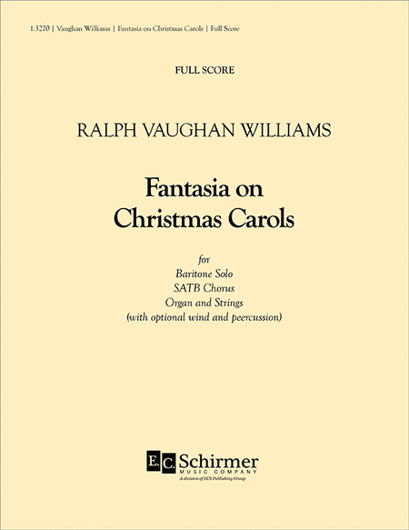 Fantasia on Christmas Carols - Full Score