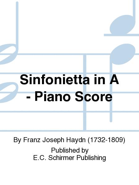 Sinfonietta in A - Piano Score