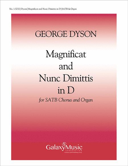 Magnificat & Nunc Dimittis in D