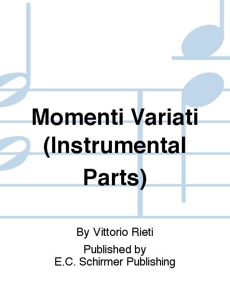 Momenti Variati (Instrumental Parts)