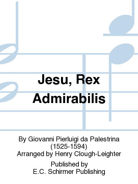 Jesu, Rex Admirabilis
