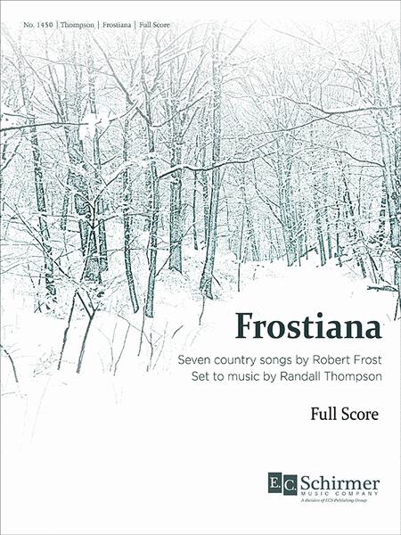 Frostiana - Full Score