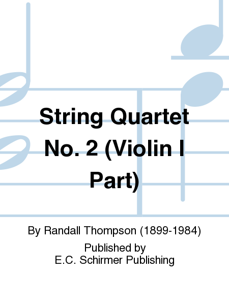 String Quartet No. 2 (Violin I Part)