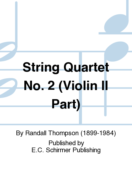 String Quartet No. 2 (Violin II Part)