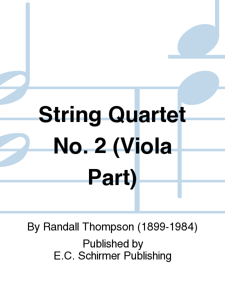 String Quartet No. 2 (Viola Part)