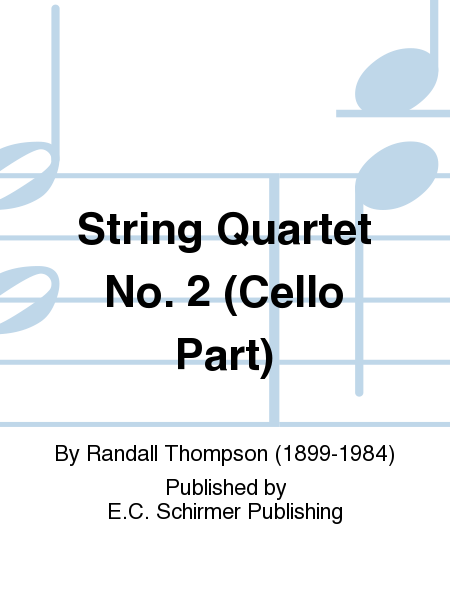 String Quartet No. 2 (Cello Part)