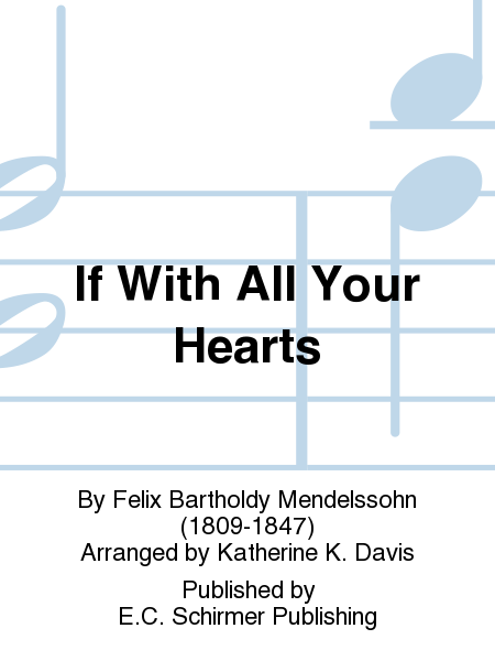 if with all your hearts sheet music pdf