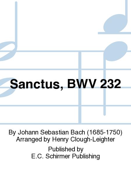 Sanctus, BWV 232