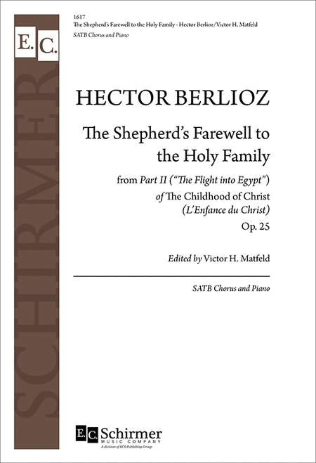 L'Enfance du Christ: The Shepherd's Farewell to the Holy Family
