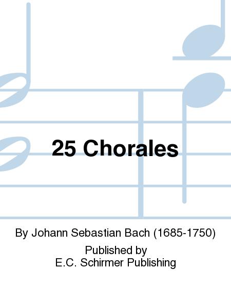 25 Chorales