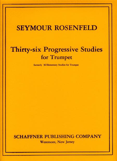 Thirty-Six Progressive Studies