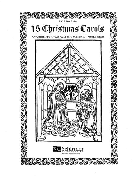 Fifteen 2-part Christmas Carols