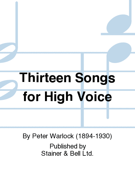 Thirteen Songs for High Voice