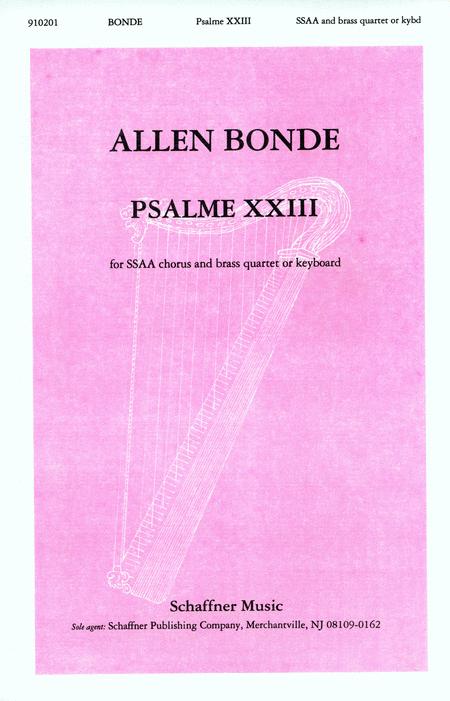 Psalme XXIII