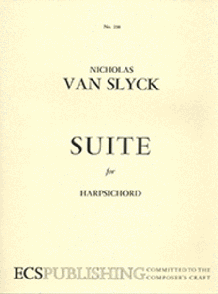 Suite for Harpsichord