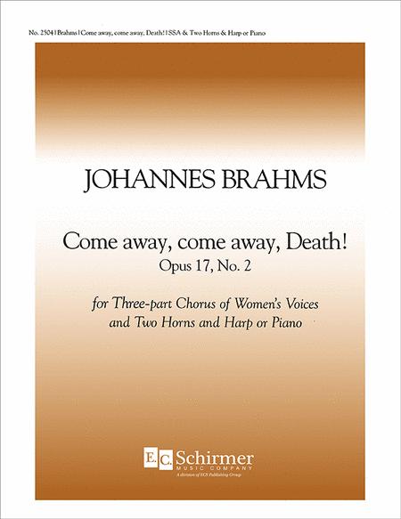 Come Away, Come Away, Death!, Op. 17/2