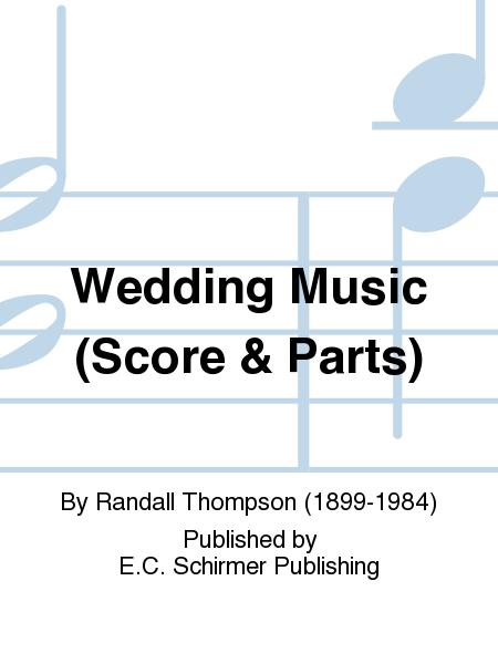 Wedding Music (Score & Parts)