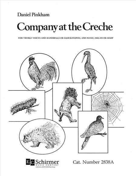 Company at the Creche (Choral Score)