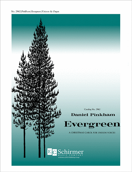 Evergreen (Choral Score)