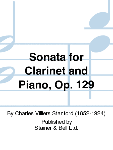 Sonata for Clarinet and Piano, Op. 129