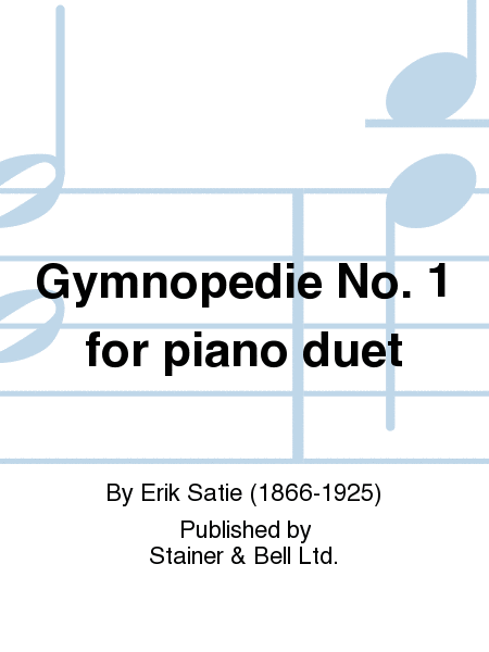 Gymnopedie No. 1 for piano duet