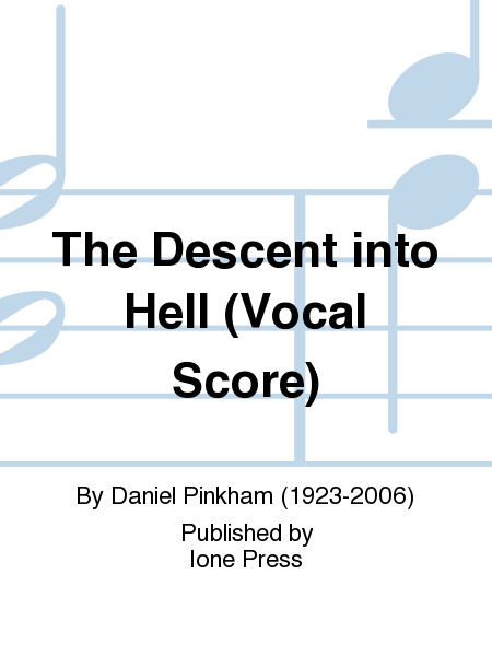 The Descent into Hell (Vocal Score)