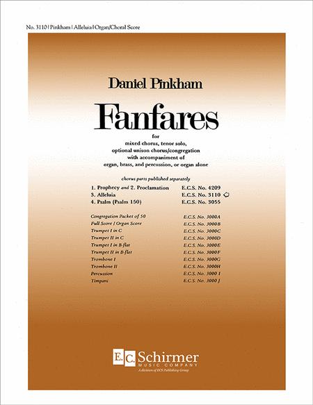 Fanfares: No. 3. Alleluia