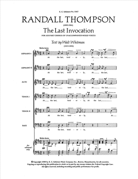 The Last Invocation
