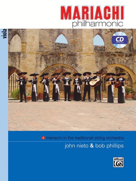 Mariachi Philharmonic - Viola (Book & CD)
