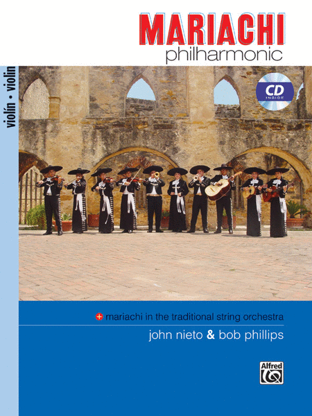 Mariachi Philharmonic - Violin (Book & CD)