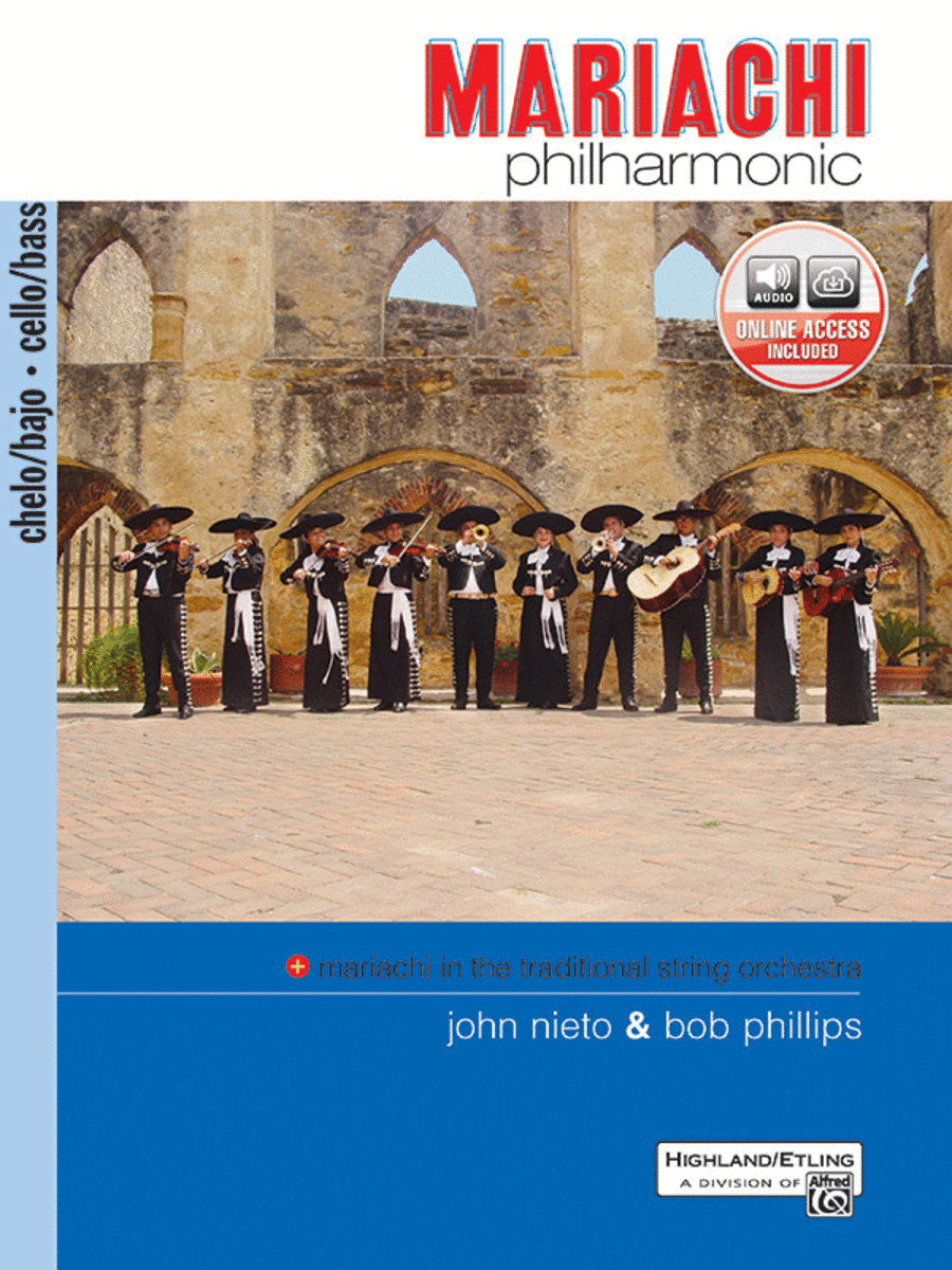 Mariachi Philharmonic - Cello/Bass (Book)