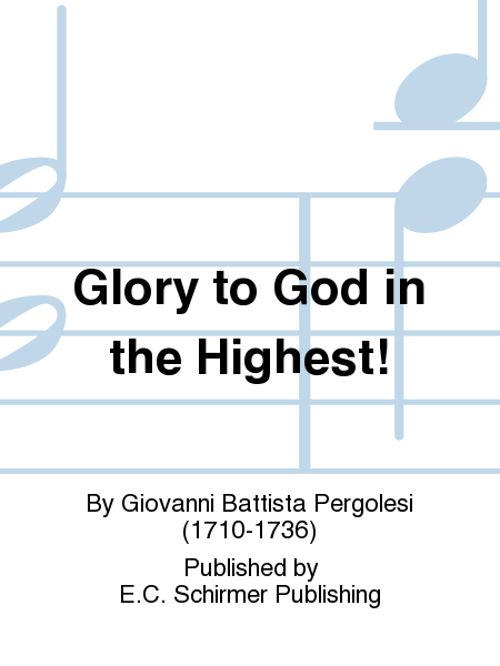 Glory to God in the Highest!