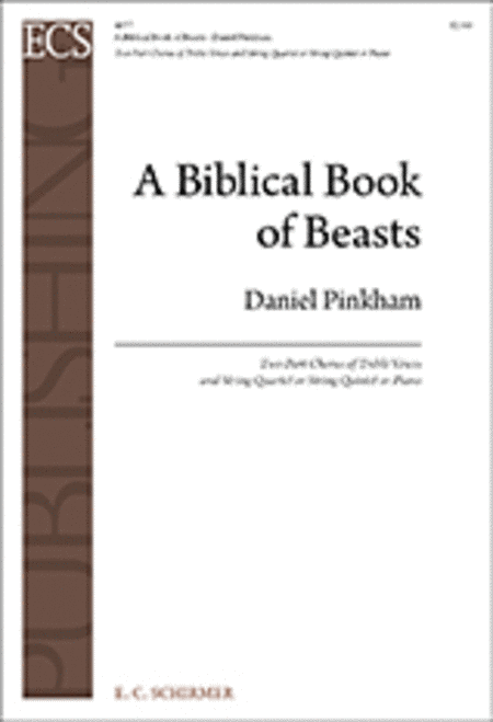 A Biblical Book of Beasts