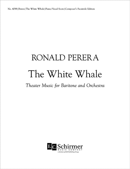 The White Whale (Piano/Vocal Score)
