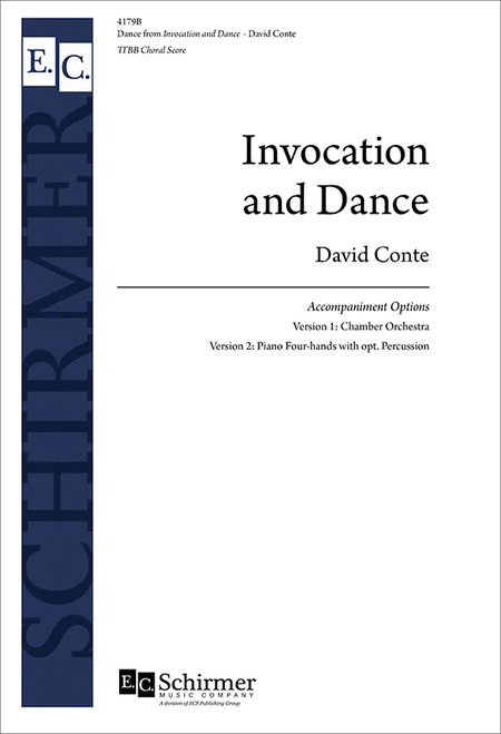 Invocation and Dance (Choral Score)