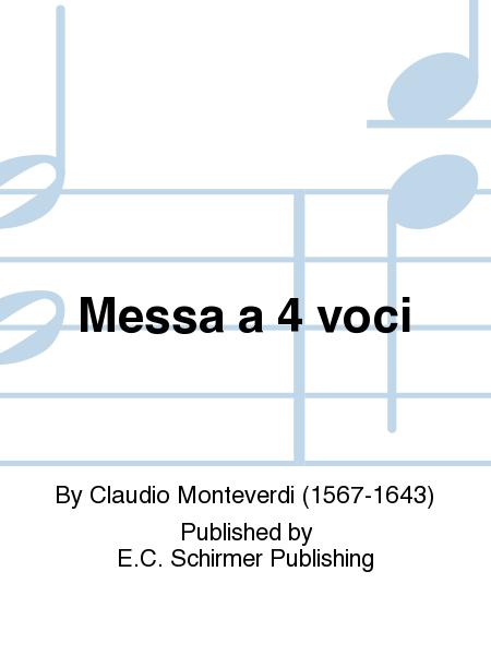 Messa a 4 voci