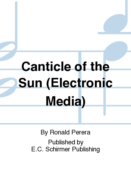Canticle of the Sun (Electronic Media)