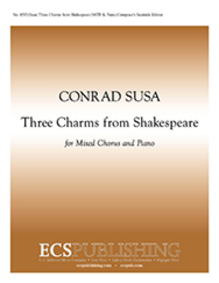 Three Charms from Shakespeare