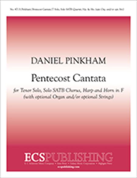 Pentecost Cantata (Choral Score)