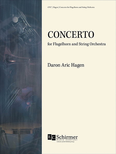 Concerto for Flugelhorn & Strings (Full Score & Flugelhorn Part)